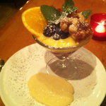  Lemon dessert. Delicious